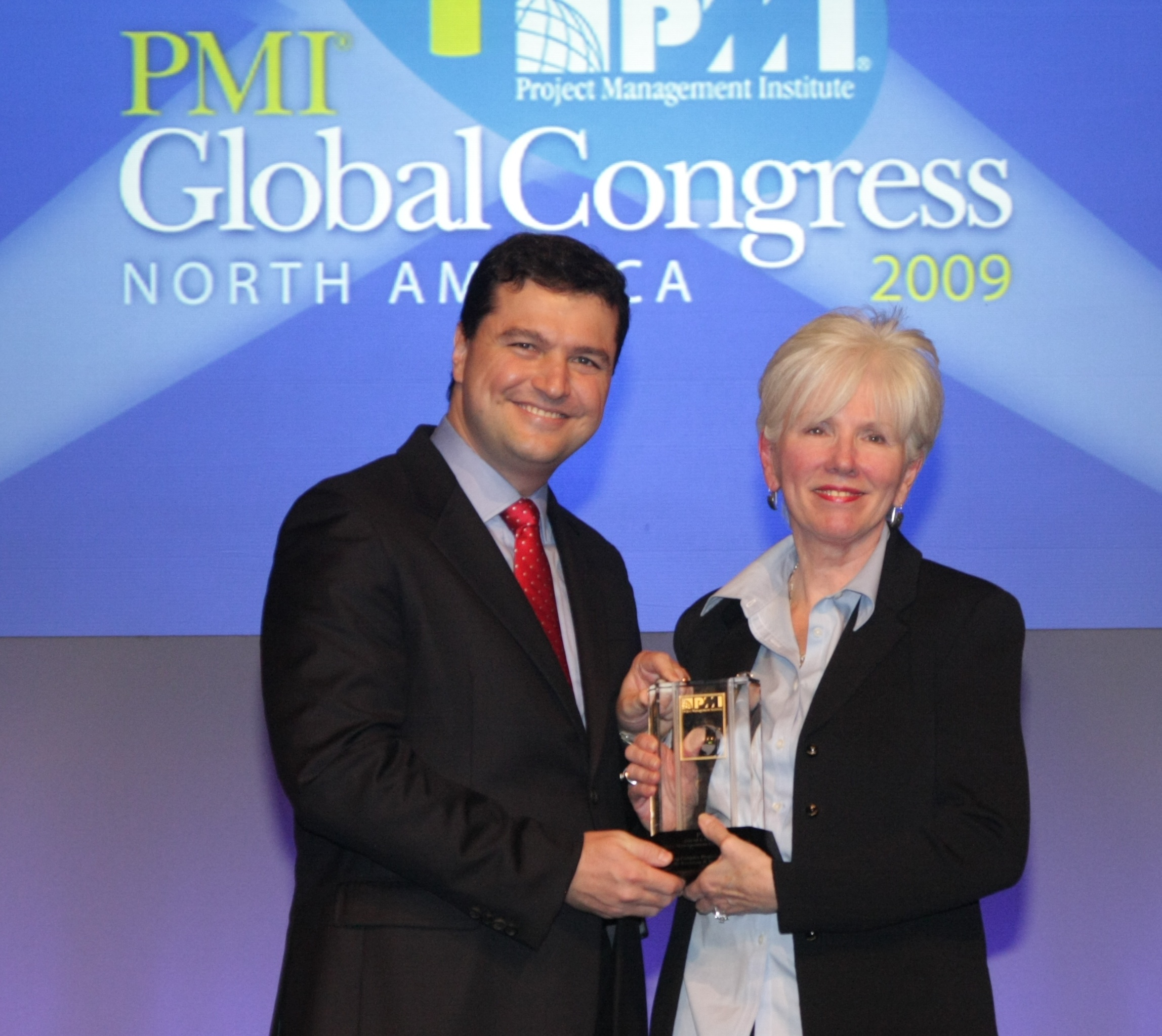 PMI 2009 Award Winner